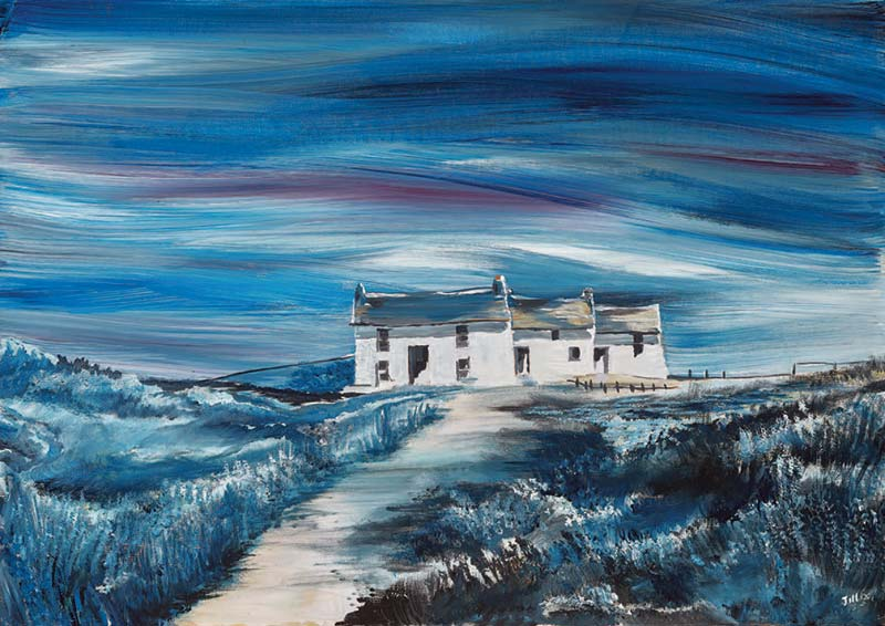 Pembrokeshre artist Jill Jones