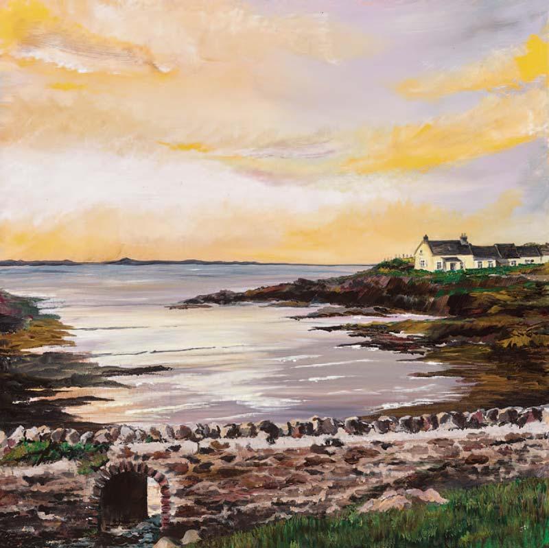 Pembrokeshire artist; treatment of St Brides Haven