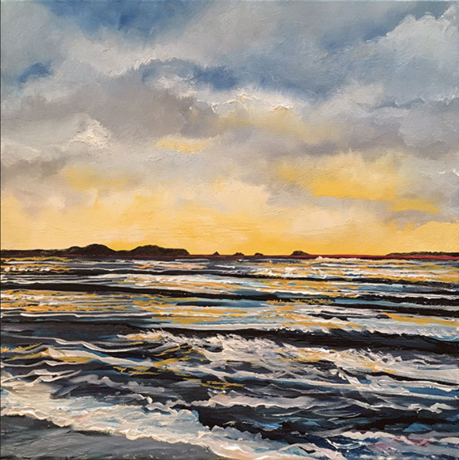 Fathers' Day art commissions : From Whitesands. Pembrokeshire Art Commissions